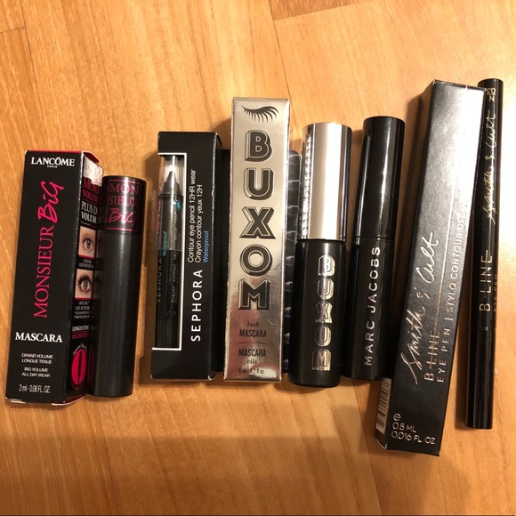 Lancome Other - High end mascara and eyeliner lot of five